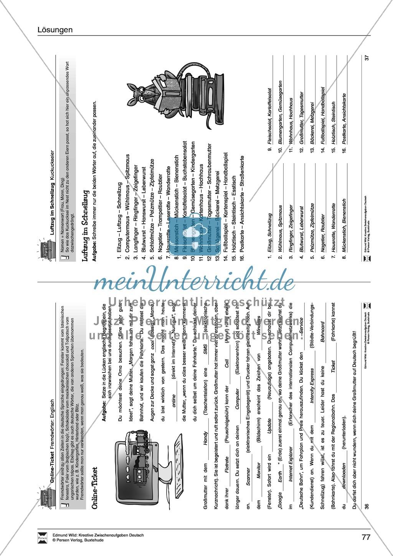 Kreative Aufgaben zum Erweitern des aktiven Wortschatzes Preview 21