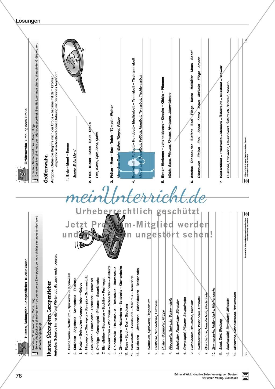 Kreative Aufgaben zum Erweitern des aktiven Wortschatzes Preview 22
