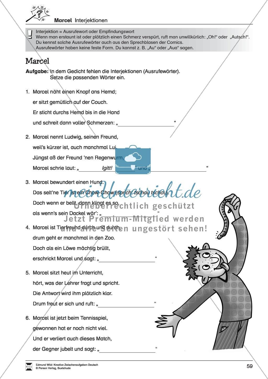 Kreative und spielerische Aufgaben zu Rechtschreibung, Wortschaft, Grammtik und Konzentration Preview 10