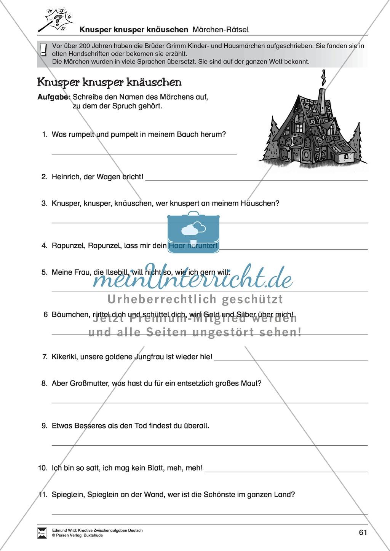 Kreative und spielerische Aufgaben zu Rechtschreibung, Wortschaft, Grammtik und Konzentration Preview 11