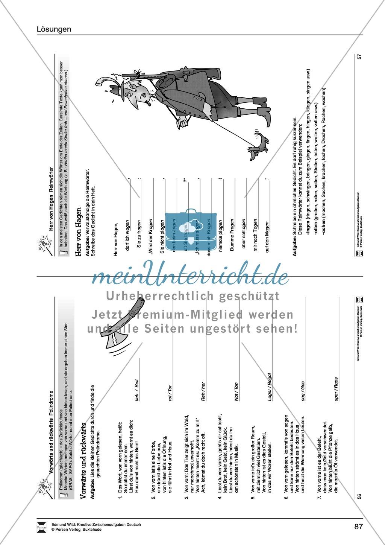 Kreative und spielerische Aufgaben zu Rechtschreibung, Wortschaft, Grammtik und Konzentration Preview 17