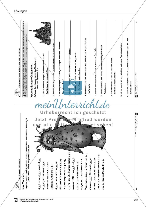 Kreative und spielerische Aufgaben zu Rechtschreibung, Wortschaft, Grammtik und Konzentration Preview 18