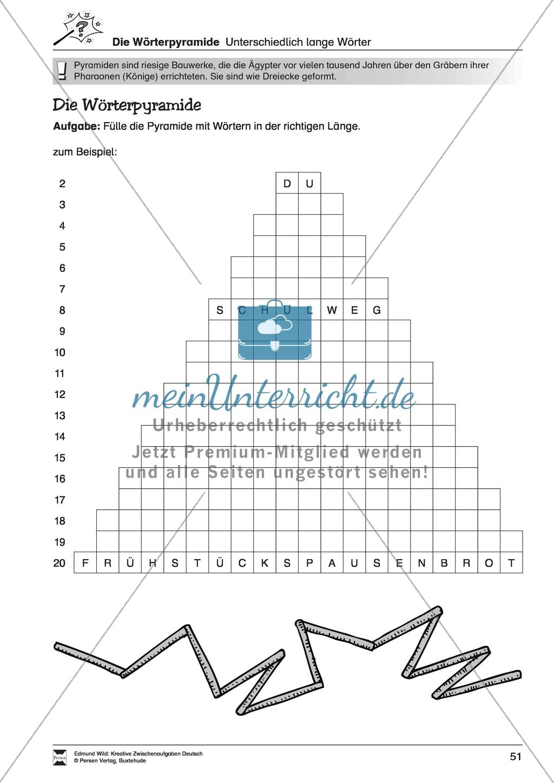 Kreative und spielerische Aufgaben zu Rechtschreibung, Wortschaft, Grammtik und Konzentration Preview 2
