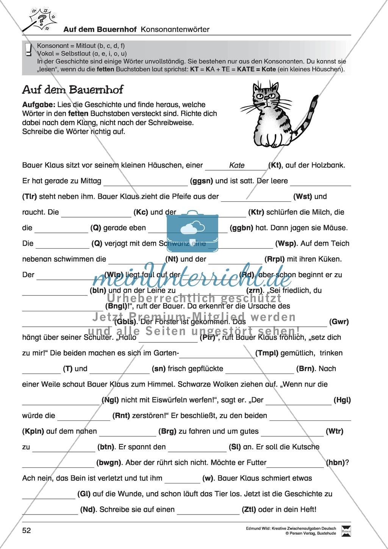 Kreative und spielerische Aufgaben zu Rechtschreibung, Wortschaft, Grammtik und Konzentration Preview 3