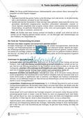 Übungen zum szenischen Darstellen und Präsentieren von Texten Preview 10