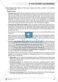 Übungen zum szenischen Darstellen und Präsentieren von Texten Preview 2