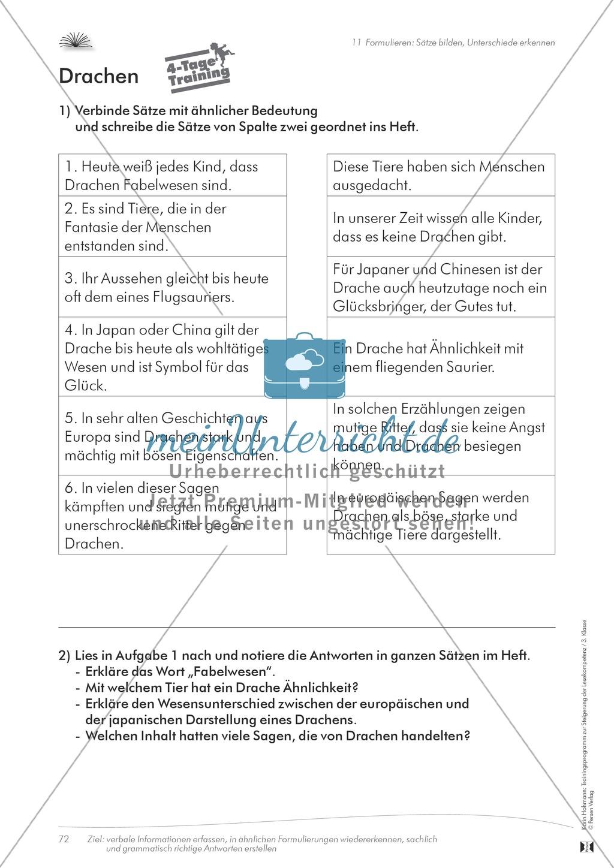 Lesekompetenz aufbauen: Sätze formulieren Preview 4
