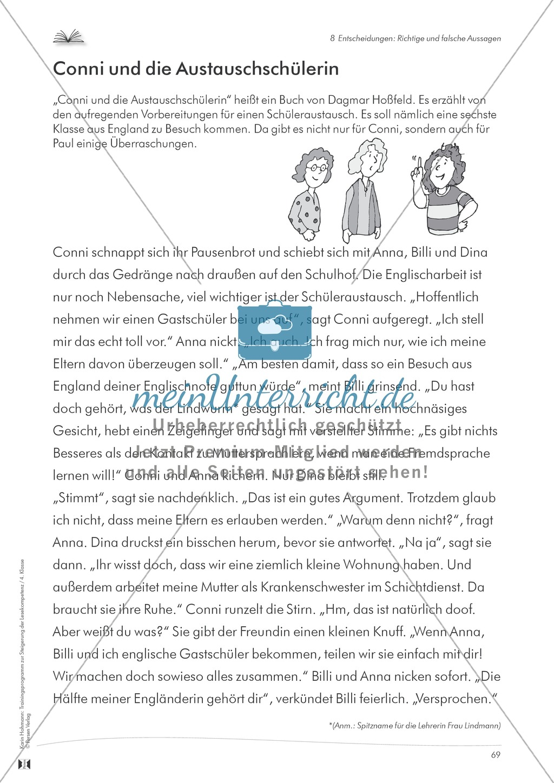 Lesekompetenz aufbauen - richtige Aussagen erkennen: Till Eulenspiegel Preview 12