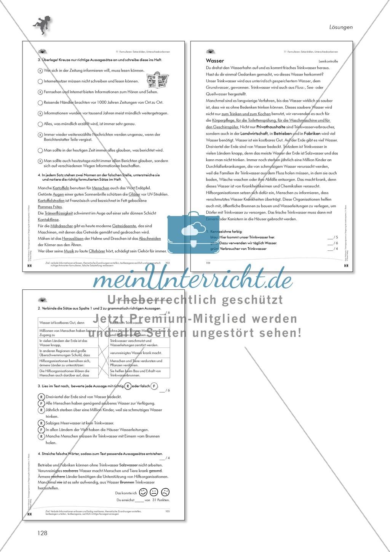 Enchanting Jahr 1 Leseund Arbeitsblätter Bedruckbaren Crest ...