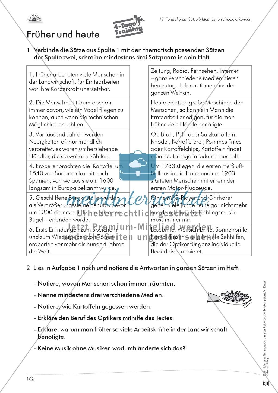 Lese- und Schreibkompetenz aufbauen - Sätze formulieren Preview 7