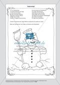 Le bonhomme de neige- Der Schneemann Preview 1