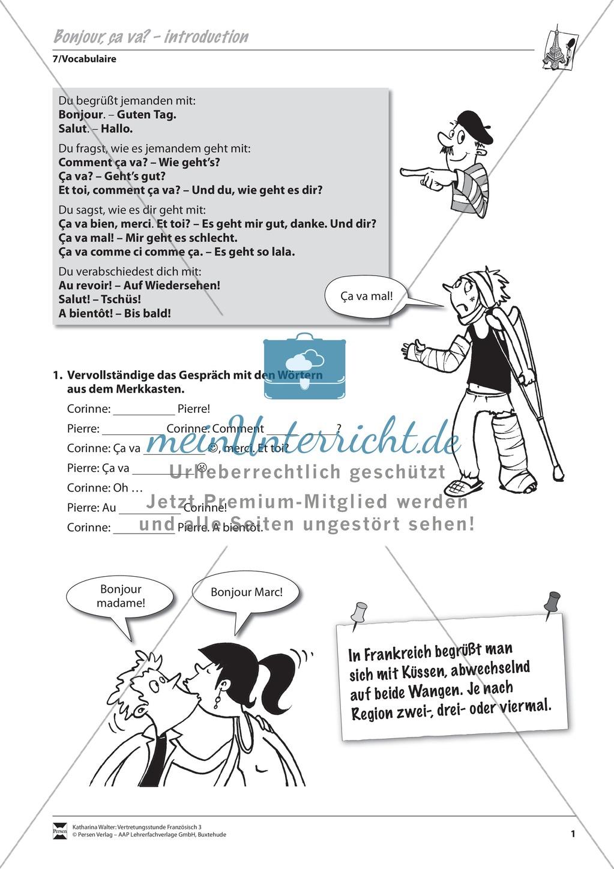 Grammatik für Anfänger: Die Begrüßung Preview 0