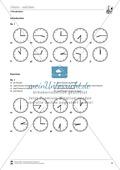 Grammatik für Anfänger: L´ heure- Die Uhrzeit Preview 3