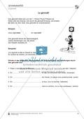 Französisch, Grammatik, Didaktik, Übungsformen, Diverses, Zeitformen, Wortschatzarbeit, Gérondif