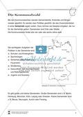 Die Kommunalwahl: Infotext und Arbeitsblätter Preview 1