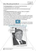 Der Bundespräsident: Infotext und Arbeitsblätter Preview 1