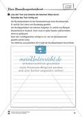 Der Bundespräsident: Infotext und Arbeitsblätter Preview 3