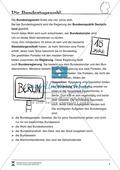 Die Bundestagswahl: Infotext und Arbeitsblatt Preview 1