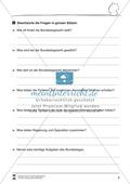Die Bundestagswahl: Infotext und Arbeitsblatt Preview 2