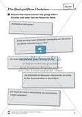 Die fünf größten Parteien Deutschlands: Infotext und Arbeitsblätter Preview 5