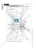 Perspektive: Fluchtpunkt finden. Arbeitsmaterial Preview 1