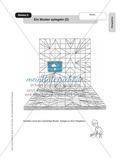 Perspektive: Ein Muster spiegeln. Arbeitsmaterial Preview 2