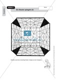 Perspektive: Ein Muster spiegeln. Arbeitsmaterial Preview 3
