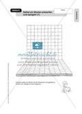 Perspektive: Selbst ein Muster entwerfen und spiegeln. Arbeitsmaterial Preview 1