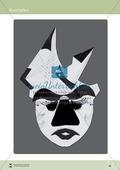 Kostümfest: Masken aus Papier Preview 9