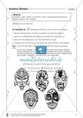 Kreative Masken aus Holzlöffeln Preview 1