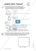 Knobel-.  Denk- und Schreibrätsel zur Festigung von Grundwortschaft und einfachen Satzmustern im Englischunterricht Thumbnail 13