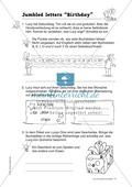 Knobel-.  Denk- und Schreibrätsel zur Festigung von Grundwortschaft und einfachen Satzmustern im Englischunterricht Thumbnail 14