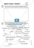 Knobel-.  Denk- und Schreibrätsel zur Festigung von Grundwortschaft und einfachen Satzmustern im Englischunterricht Thumbnail 19