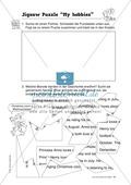 Knobel-.  Denk- und Schreibrätsel zur Festigung von Grundwortschaft und einfachen Satzmustern im Englischunterricht Thumbnail 26
