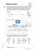 Knobel-.  Denk- und Schreibrätsel zur Festigung von Grundwortschaft und einfachen Satzmustern im Englischunterricht Thumbnail 28