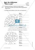 Knobel-.  Denk- und Schreibrätsel zur Festigung von Grundwortschaft und einfachen Satzmustern im Englischunterricht Thumbnail 3