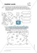 Knobel-.  Denk- und Schreibrätsel zur Festigung von Grundwortschaft und einfachen Satzmustern im Englischunterricht Thumbnail 5