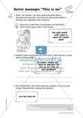 Knobel-.  Denk- und Schreibrätsel zur Festigung von Grundwortschaft und einfachen Satzmustern im Englischunterricht Thumbnail 6