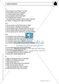 Going-to-future bei questions: Erklärung, Übungen + Lösungen Preview 5