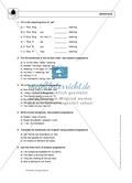 Present progressive bei statements: Erklärung, Übungen + Lösungen Preview 2