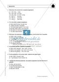 Present progressive bei statements: Erklärung, Übungen + Lösungen Preview 3