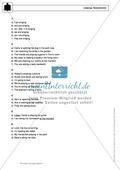 Present progressive bei statements: Erklärung, Übungen + Lösungen Preview 5