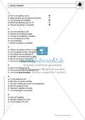 Present progressive bei negations: Erklärung, Übungen + Lösungen Preview 4