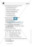 Present progressive bei questions: Erklärung, Übungen + Lösungen Preview 2