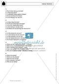 Present progressive bei questions: Erklärung, Übungen + Lösungen Preview 5