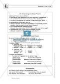 Simple Present bei questions mit to do / to be: Erklärung, Übungen + Lösungen Preview 1