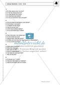 Simple Present bei questions mit to do / to be: Erklärung, Übungen + Lösungen Preview 4