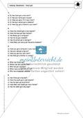 Simple Present bei questions mit have got: Erklärung, Übungen + Lösungen Preview 4