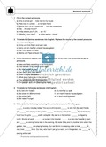 Personal pronouns: Erklärung, Übungen + Lösungen Preview 3