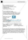 Personal pronouns: Erklärung, Übungen + Lösungen Preview 5